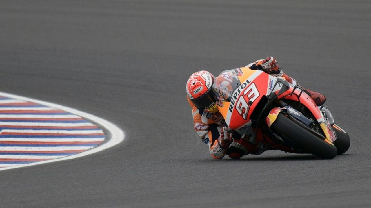 GP des Amériques : Marquez en pole