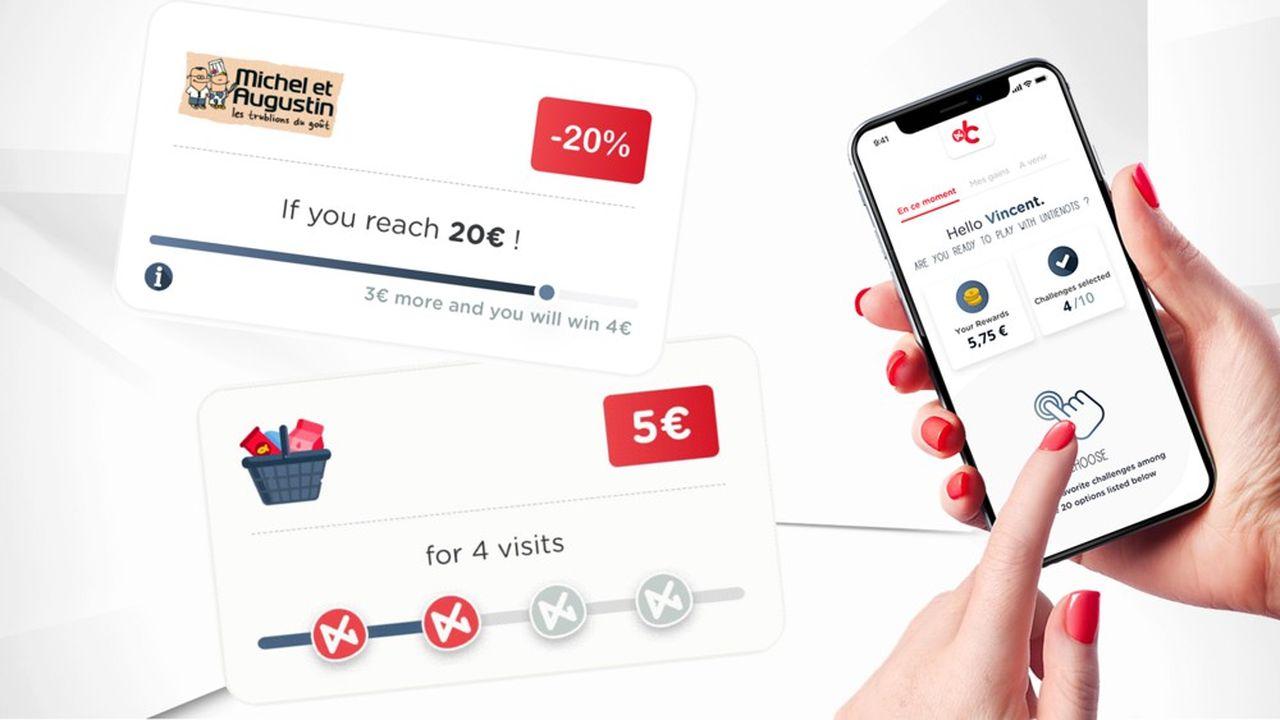 Avec Auchan ou Carrefour Belgique, UntieNots sophistique les opérations de promotion.