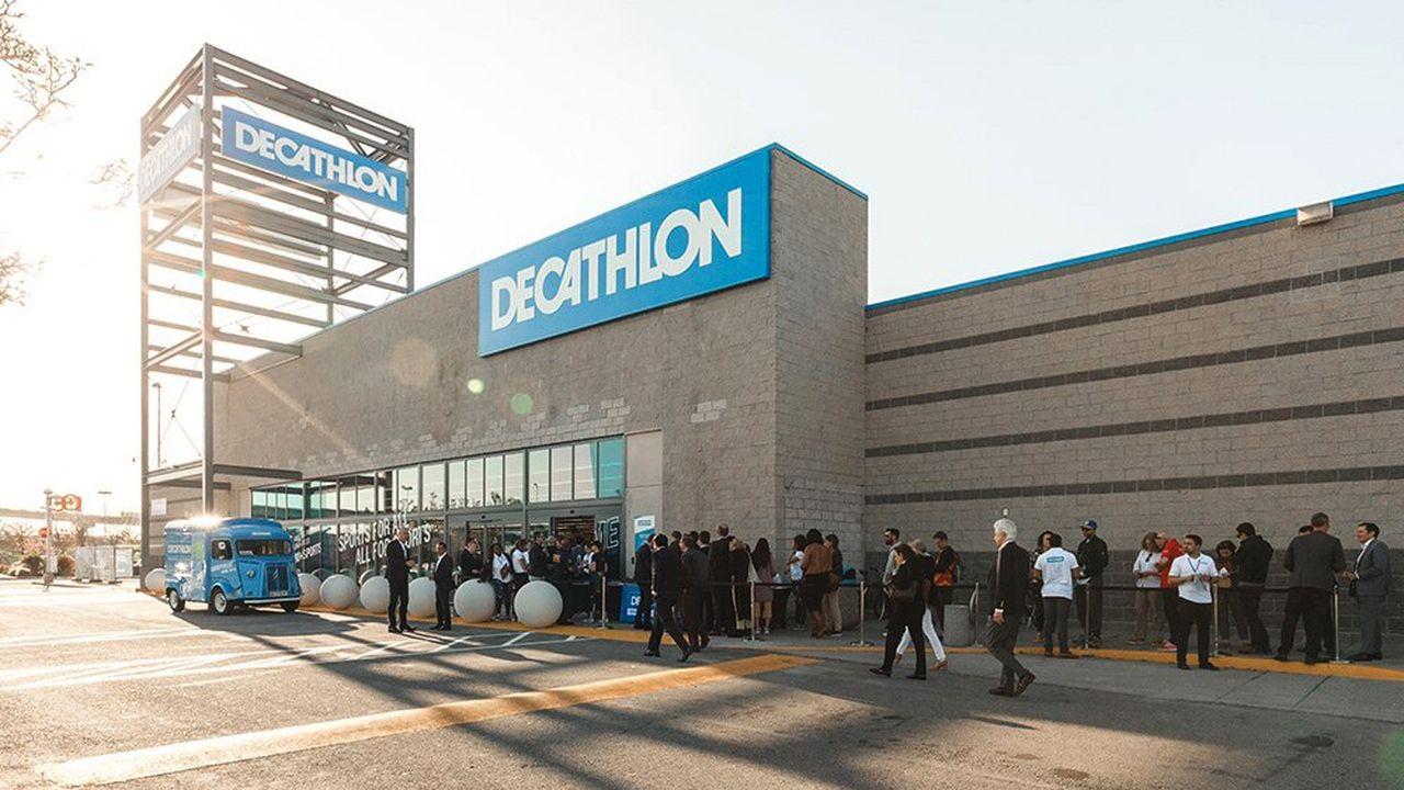 Après un petit format dans le centre de San Francisco, Decathlon a ouvert une grande surface à Emeryville en périphérie.