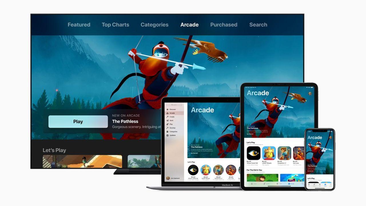 Intitulé «Arcade», le nouveau service d'Apple va prendre la forme d'un catalogue de plus d'une centaine de jeux vidéo sur mobile.