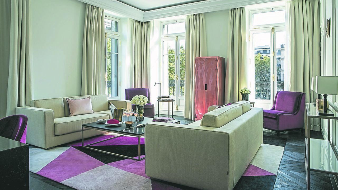 A Kyoto, le but de Fauchon « n'est pas de faire un 'copier-coller' » de son premier hôtel de la place de la Madeleine à Paris (ci-joint la photo d'une des suites), prévient le président Samy Vischel.