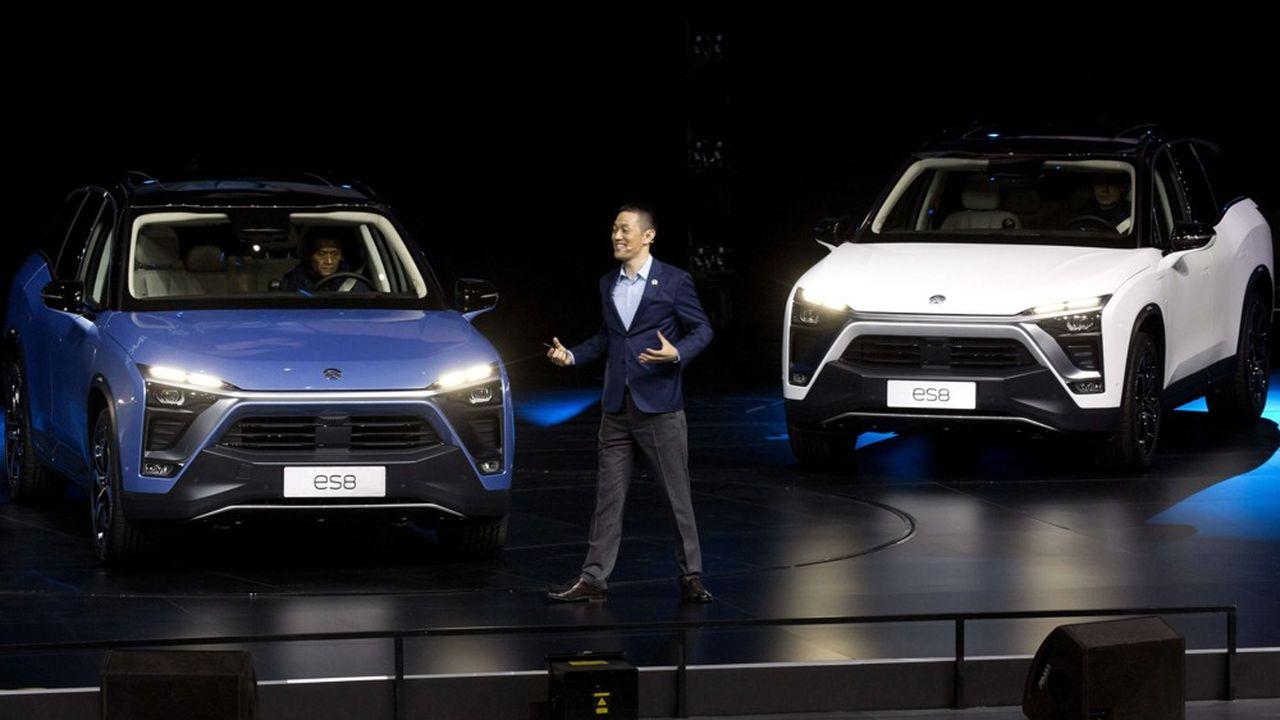 William Li, le fondateur de Nio, a lancé son premier modèle, un SUV 100% électrique, fin 2017.