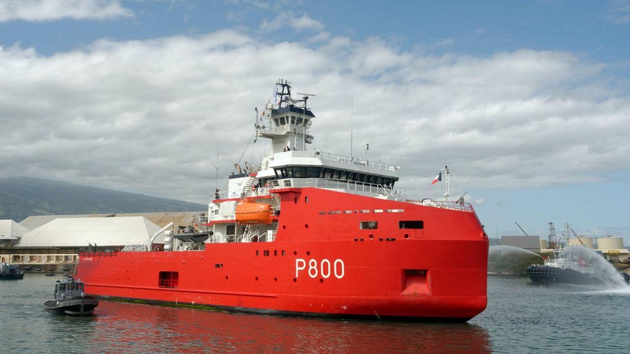 Le carnet de commandes des chantiers Piriou à Concarneau, qui ont récemment livré le nouveau patrouilleur maritime polaire Astrolabe à la marine, est plein