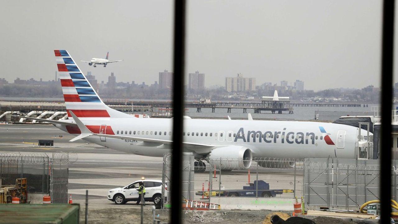 MAX: American Airlines va annuler 115 vols par jour cet été