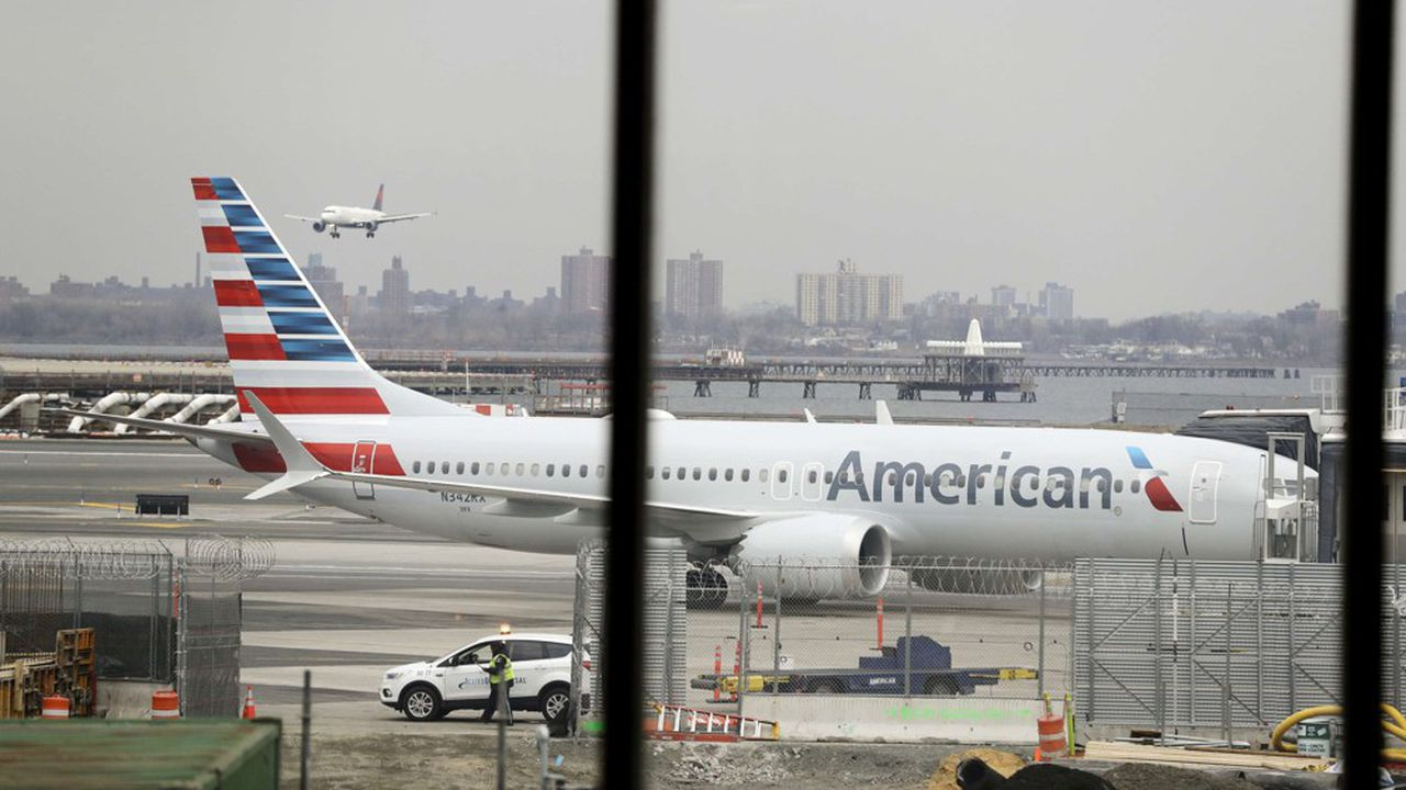 Boeing 737 MAX immobilisés, American Airlines annule 115 vols quotidiens