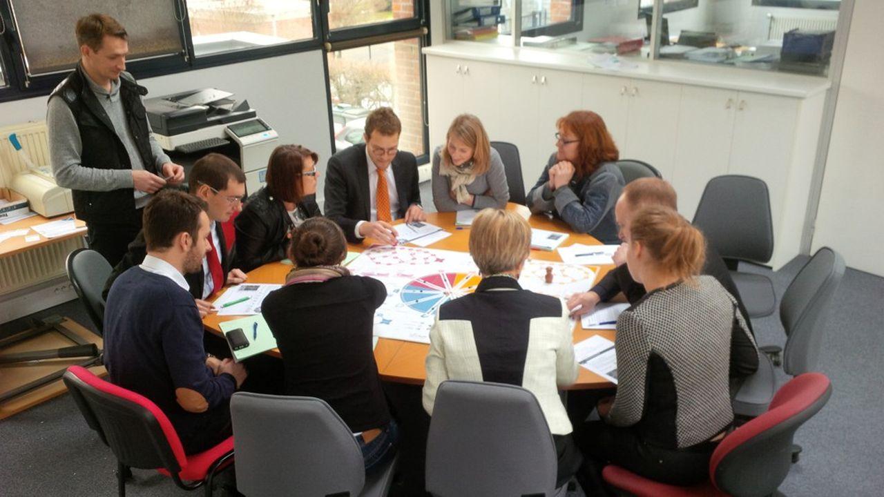 Laurent Bazin, PDG d'AxisExperts Conseils, se donne pour objectif d'instituer une représentation tournante des salariés au sein de son conseil d'entreprise.