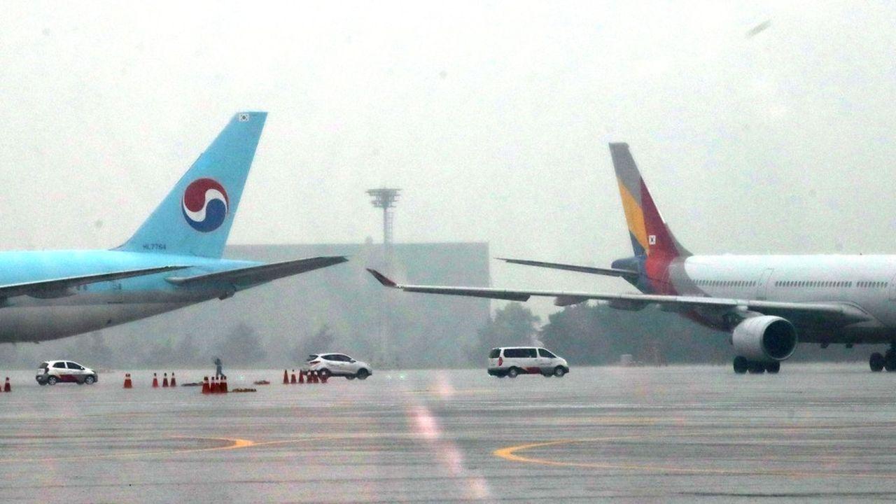 Entre endettement et processus de succession, Korean Air et Asiana Airlines, les deux premières compagnies aériennes de Corée du Sud vont traverser une période difficile