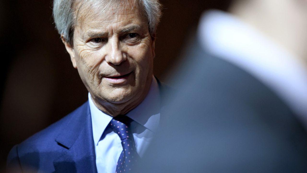 Vincent Bolloré a cédé la présidence du conseil de surveillance de Vivendi à son fils Yannick.
