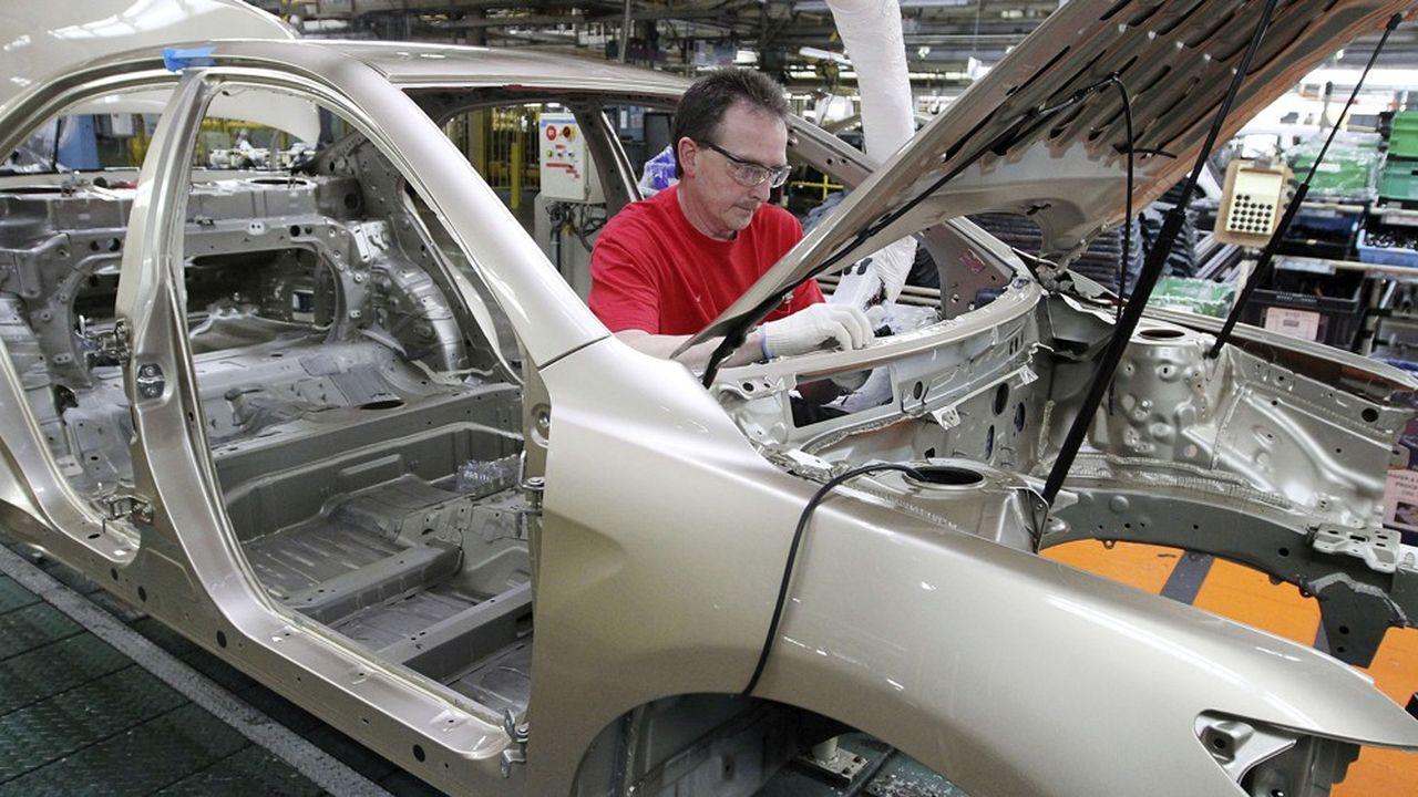 Une usine Toyota dans le Kentucky.
