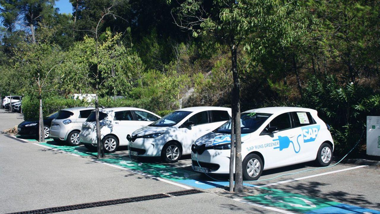 Depuis le 1er janvier 2019, SAP Labs France a banni les moteurs thermiques de son catalogue de voitures de fonction.