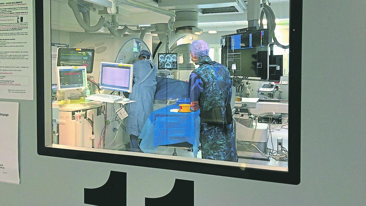 Gustave Roussy a choisi de rénover les deux salles existantes de radiologie interventionnelle et d'en créer une troisième, dotée d'un équipement dernier cri.