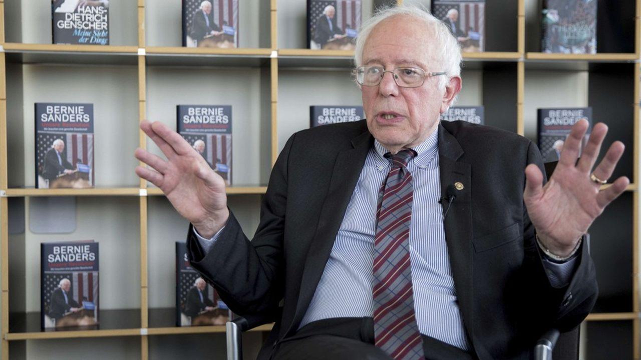 Bernie Sanderslors de la présentation à Berlin, le 31mai 2017, de son livre «Notre révolution».