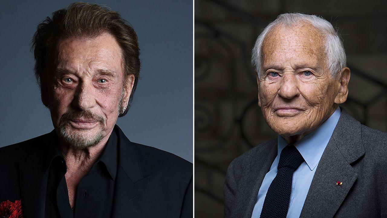 Jean d'Ormesson et Johnny Hallyday : une lourde perte pour la francophonie