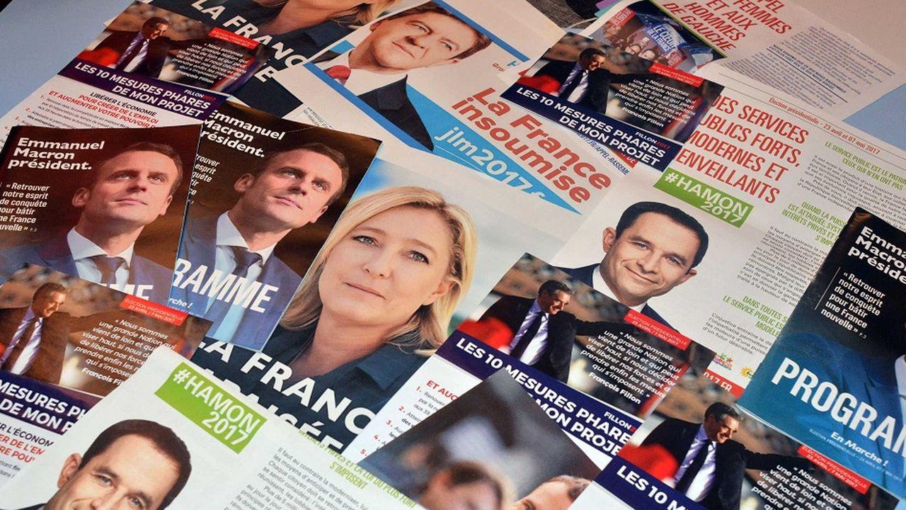 Présidentielle : les slogans de cinq candidats passés au crible