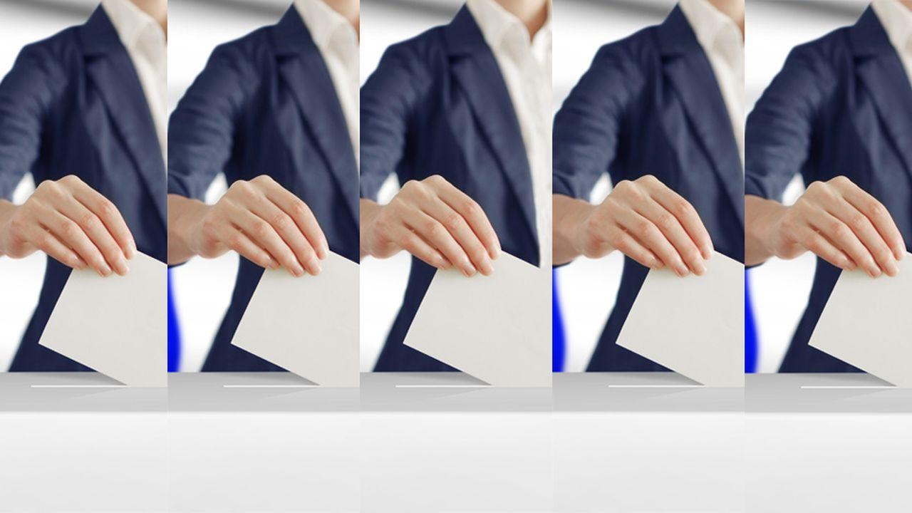 La présidentielle, scrutin à cinq tours