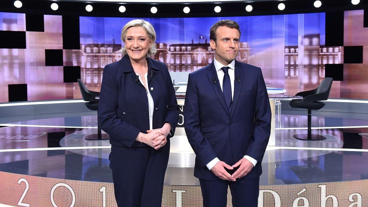 Un débat sans fond plombé par les intox d'une Marine Le Pen en mode « Trump »