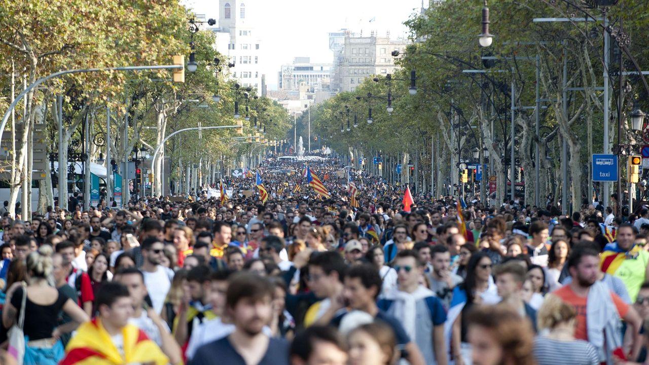 Quatre chiffres pour comprendre la crise catalane