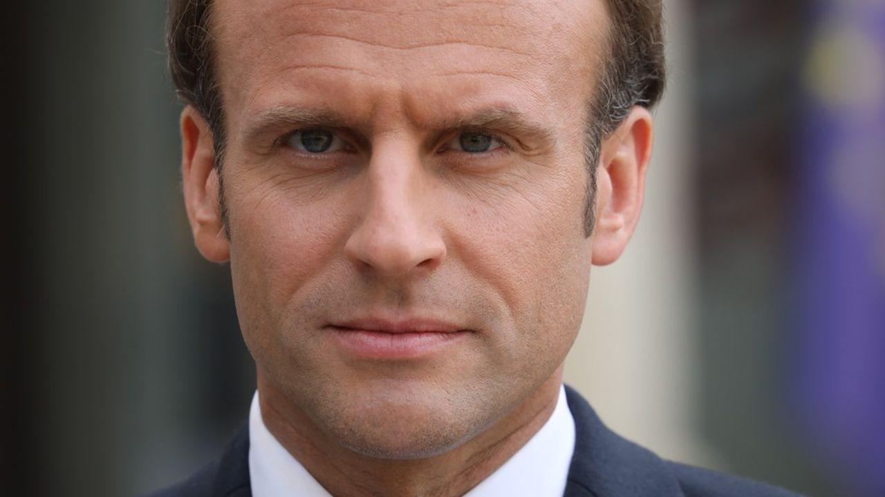 Emmanuel Macron a annulé sa conférence de presse, prévue mercredi. (Photo by Ludovic MARIN/AFP)