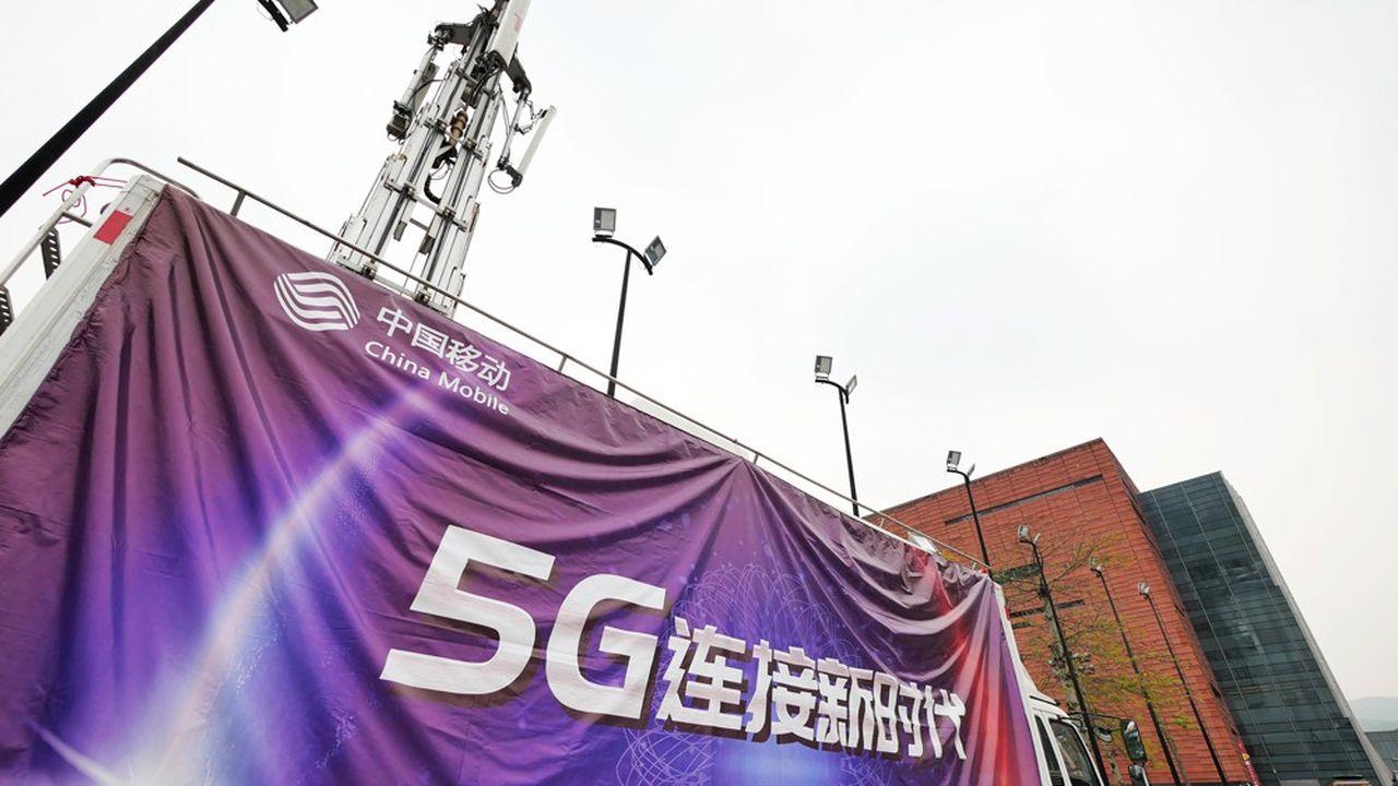 La Chine a prévu d'investir jusqu'à 224milliards de dollars sur la 5G d'ici à2025. Le prochain standard de téléphonie mobile est l'une des priorités du mégaplan Made in China2025 qui vise à faire du pays un géant dans plusieurs secteurs industriels.