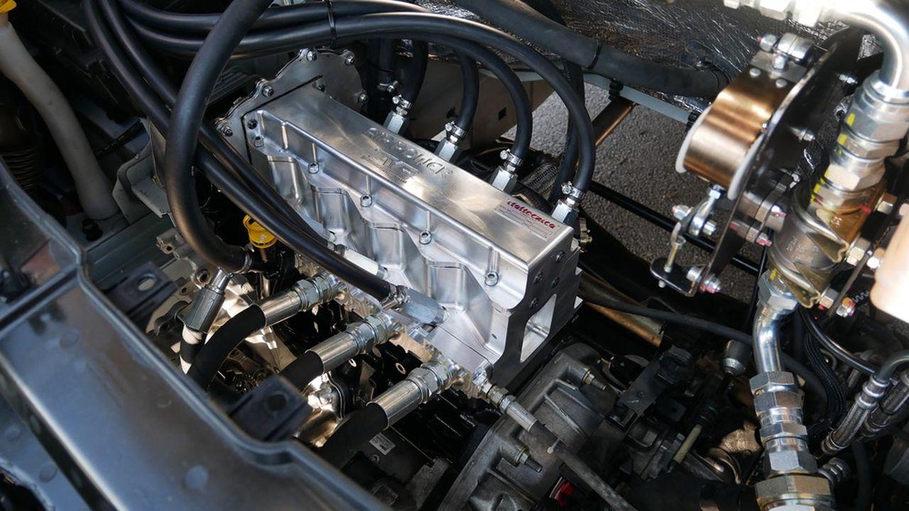 Le moteur thermique transformé en moteur à air comprimé par Anthos Air Power.
