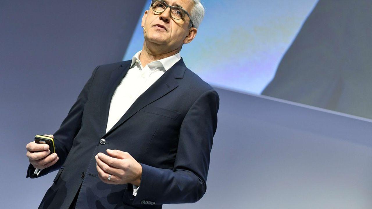 Entré en 2005 dans le groupe, Ulrich Spiesshofer avait été nomméà la tête d'ABB en 2013 après le départ inattendu de son prédécesseur