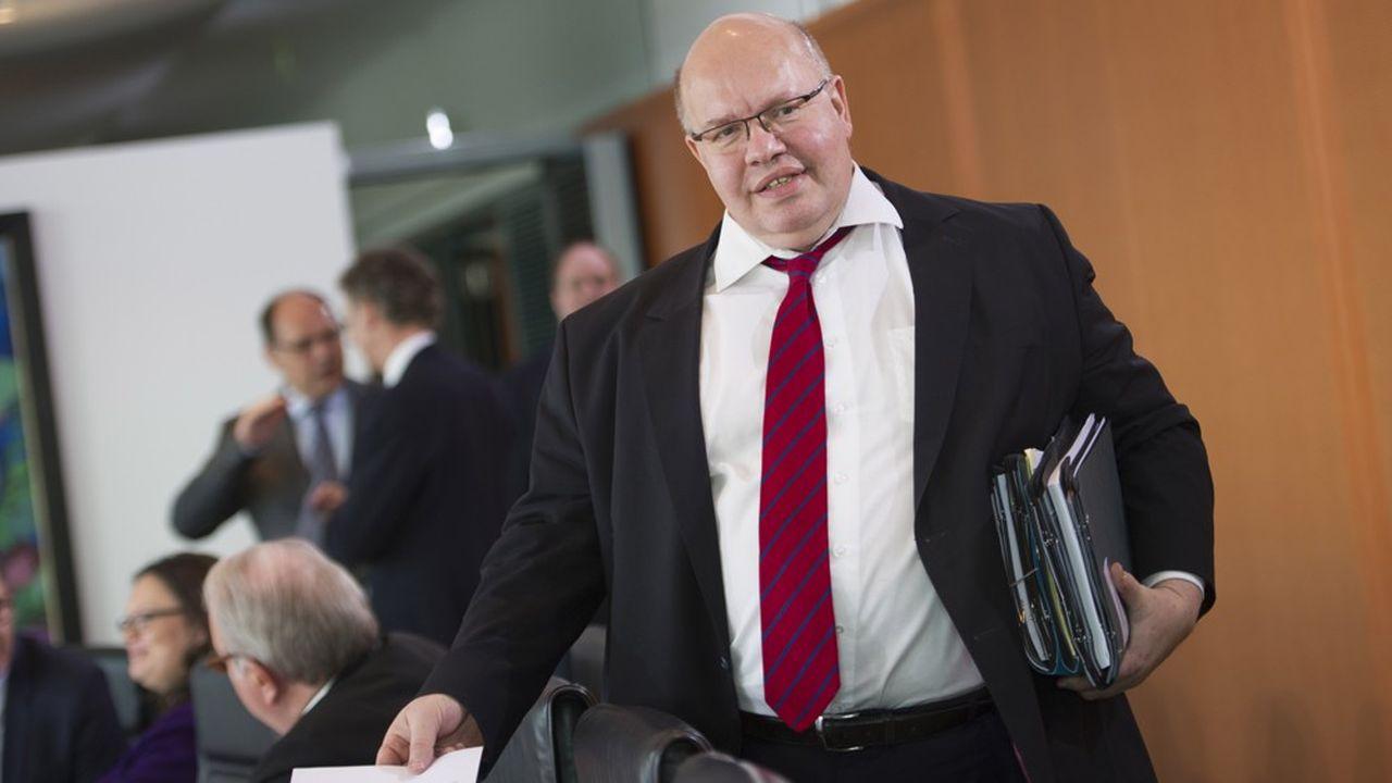 Le ministre de l'Economie, Peter Altmaier, vient de diviser par deux les prévisions de croissance de l'Allemagne cette année.