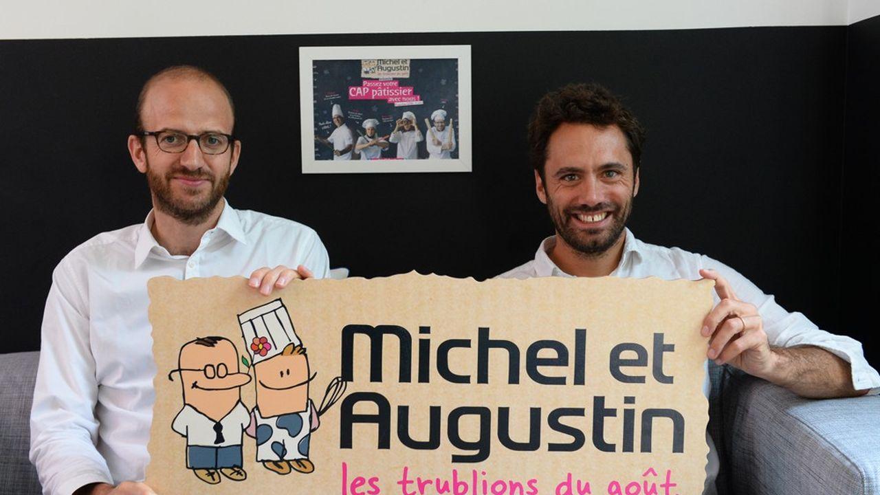 Michel et Augustin a été créé en 2004 par Augustin Paluel-Marmont et Michel de Rovira
