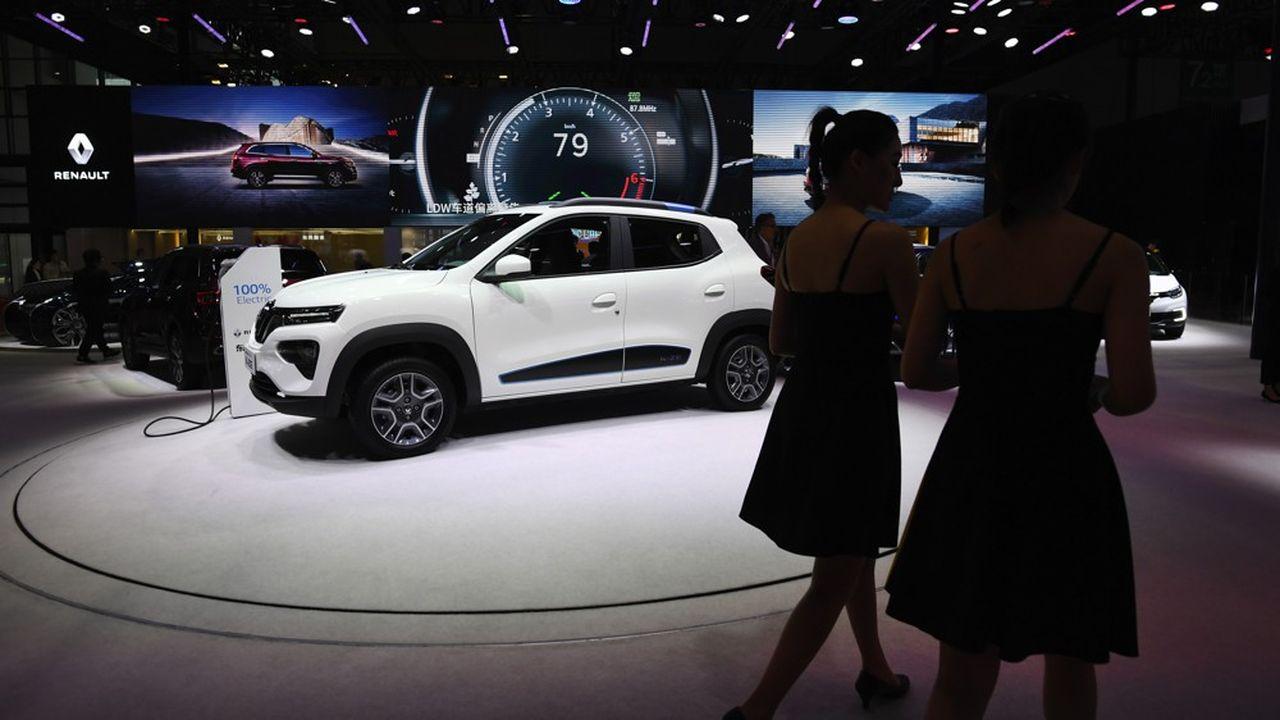 La Renault City K-ZE, la mini-citadine électrique de Renault conçue en Chine pour la Chine, devrait être commercialisée au début de l'automne.