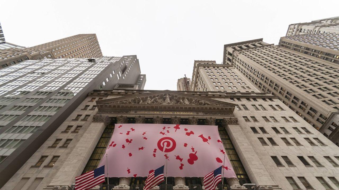 Pinterest bondit de 28% pour son premier jour de cotation