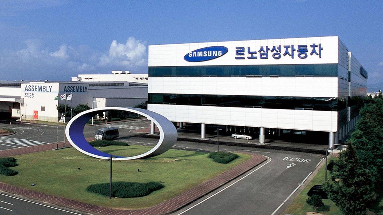 L'usine d'assemblage de Busan en Corée.