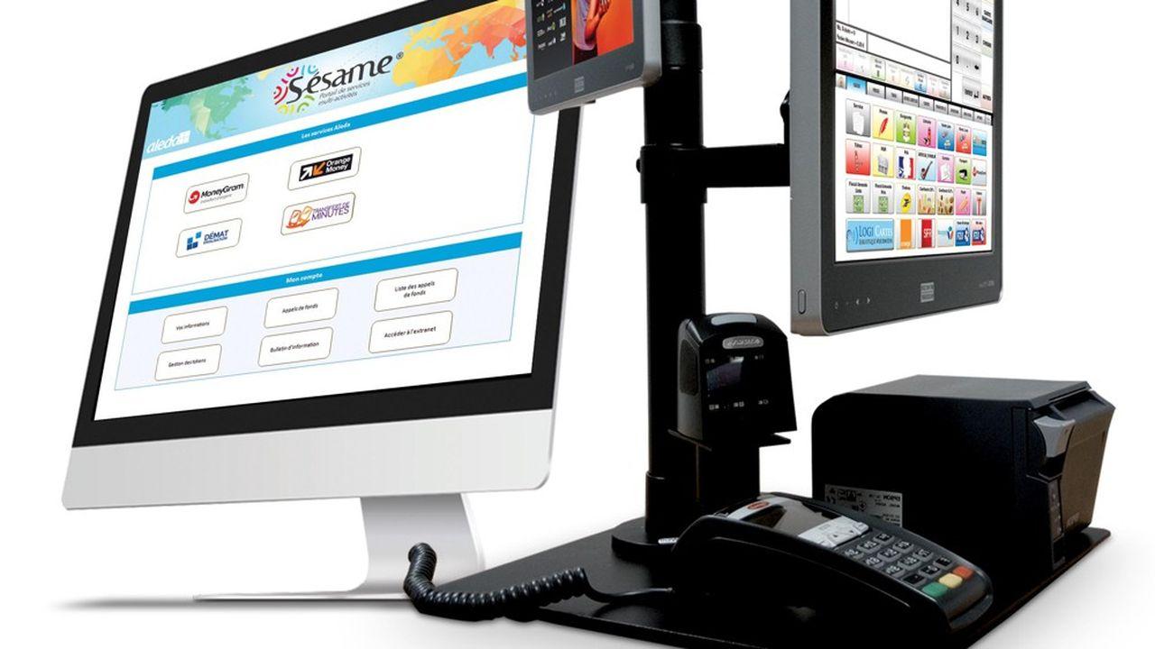 Développé par Aleda,Sésame est un portail multiservice dédié aux commerces communautaires.