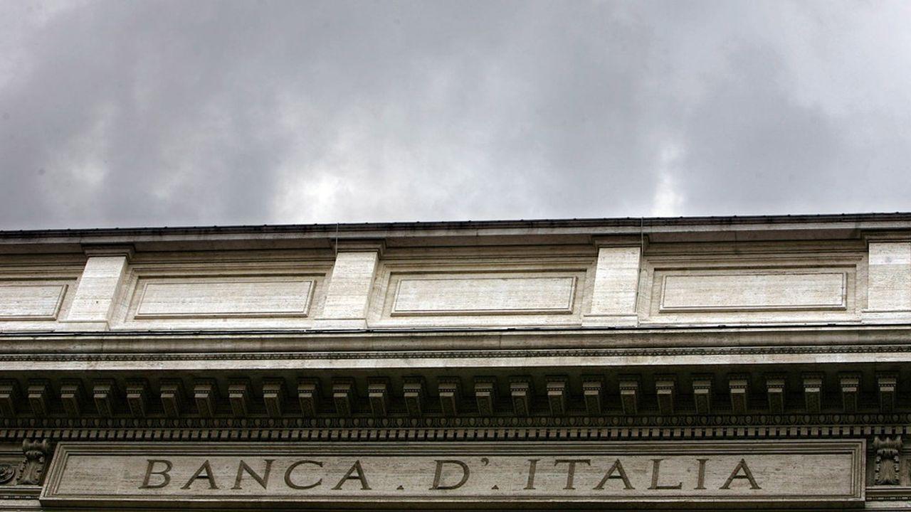 La Banque d'Italie sous pression