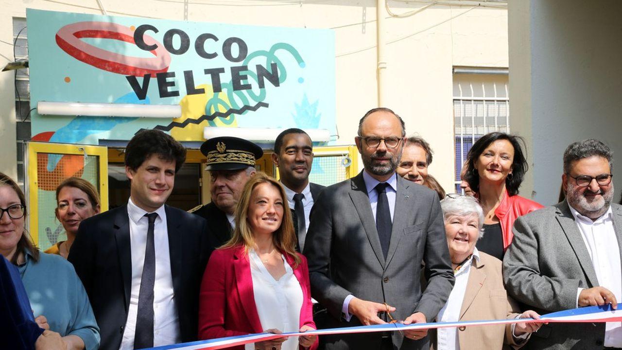 Le site de «Coco Velten» est un projet expérimental qui loge des SDF aux côtés de start-up, à deux pas de la gare Saint-Charles, à Marseille.