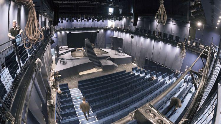 La Scala se veut une boîte à jouer modulable et évolutive pour les artistes.