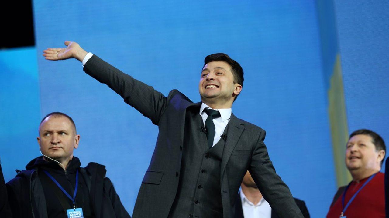 Le comédien et comique Volodymyr Zelensky pourrait remporter les élections présidentielles ukrainiennes.