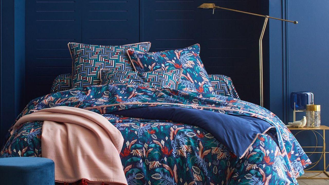 Blancheporte multiplie lesco-créations avec ses clientes pour ses gammes delinge de maison.