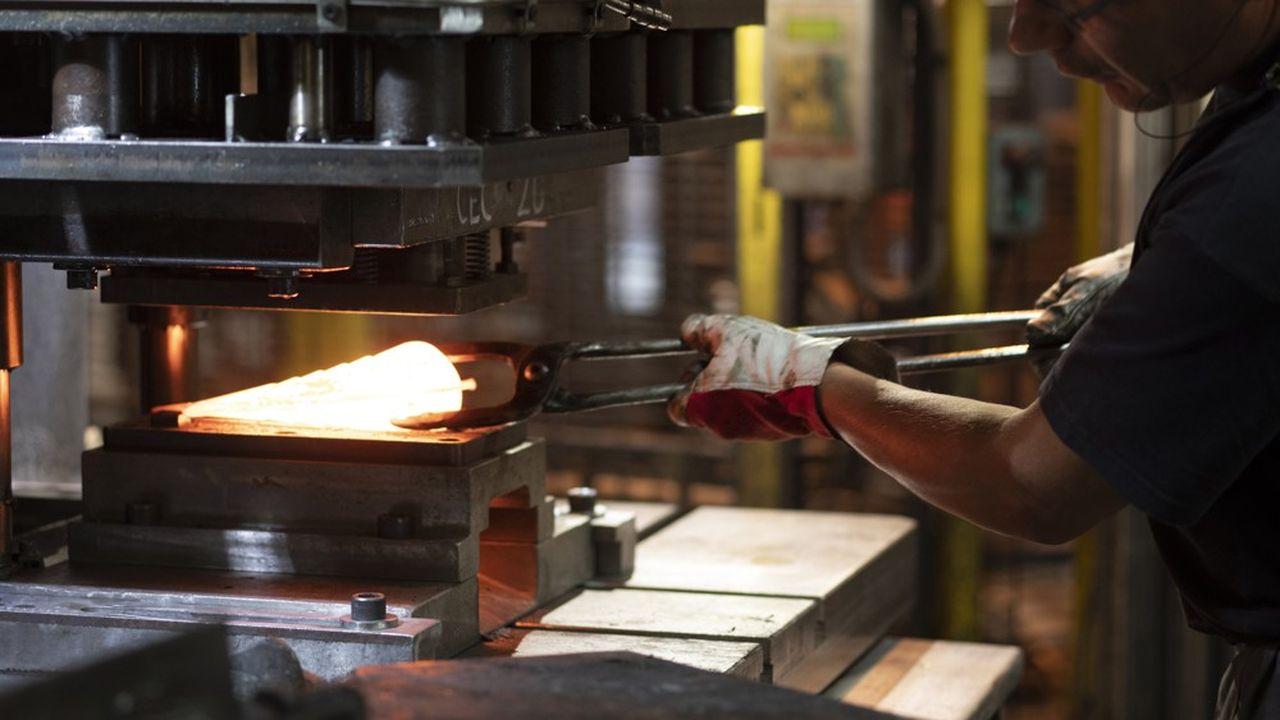 Forge d'outils du groupe Leborgne en Savoie.