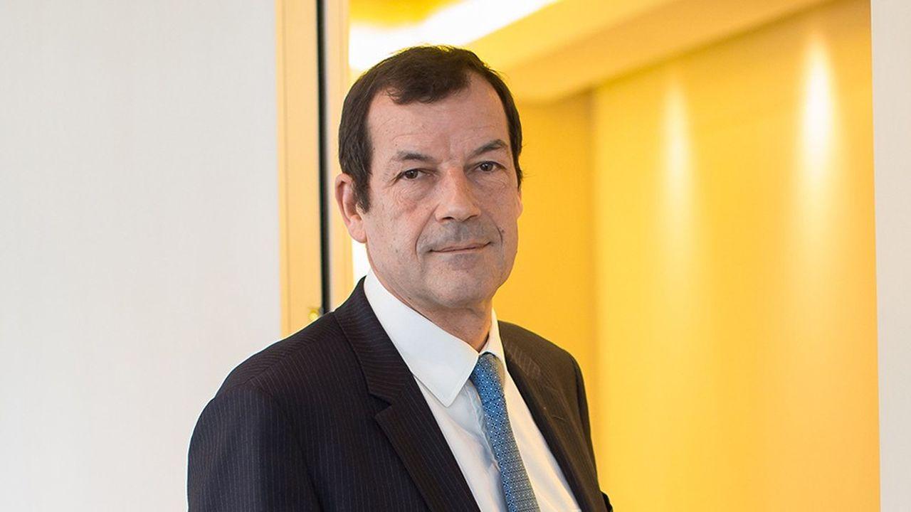 «Il y a un intérêt pour Covéa à avoir en même temps une activité d'assurance primaire et une activité de réassurance», affirme Thierry Derez, le PDG du groupe d'assurance mutualiste français.