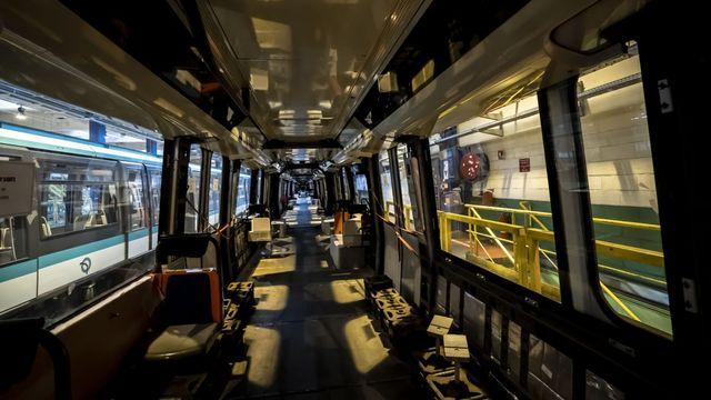 Paris : le futur train de la ligne 14 passe ses tests en nocturne