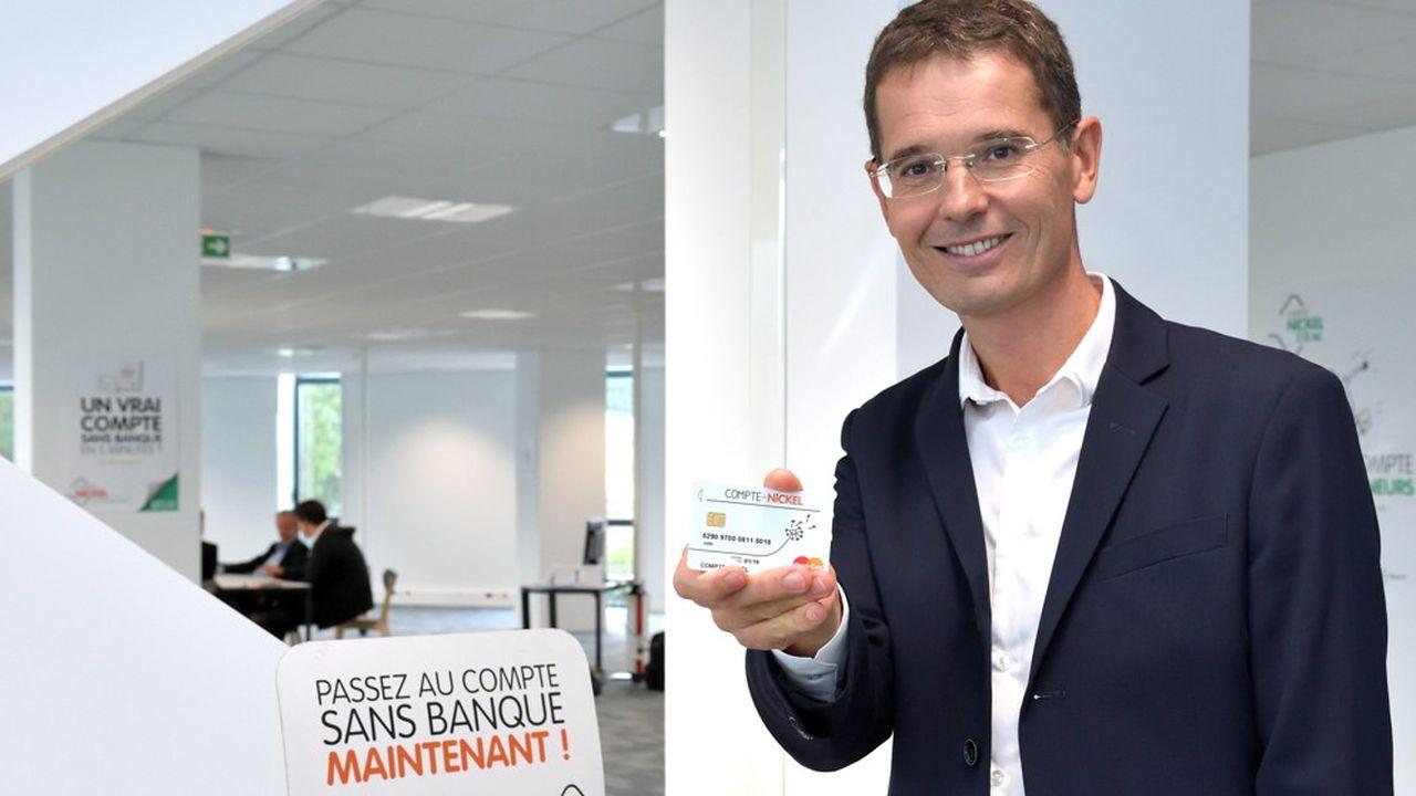 Après trois ans aux commandes, Arnaud Giraudon passe la main aux commandes de Nickel.