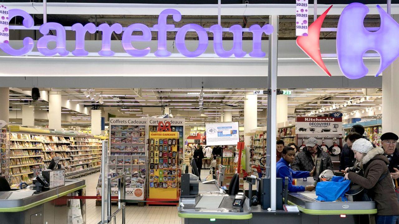 Au premier trimestre 2019, les ventes des hypermarchés Carrefour en France ont été stables.