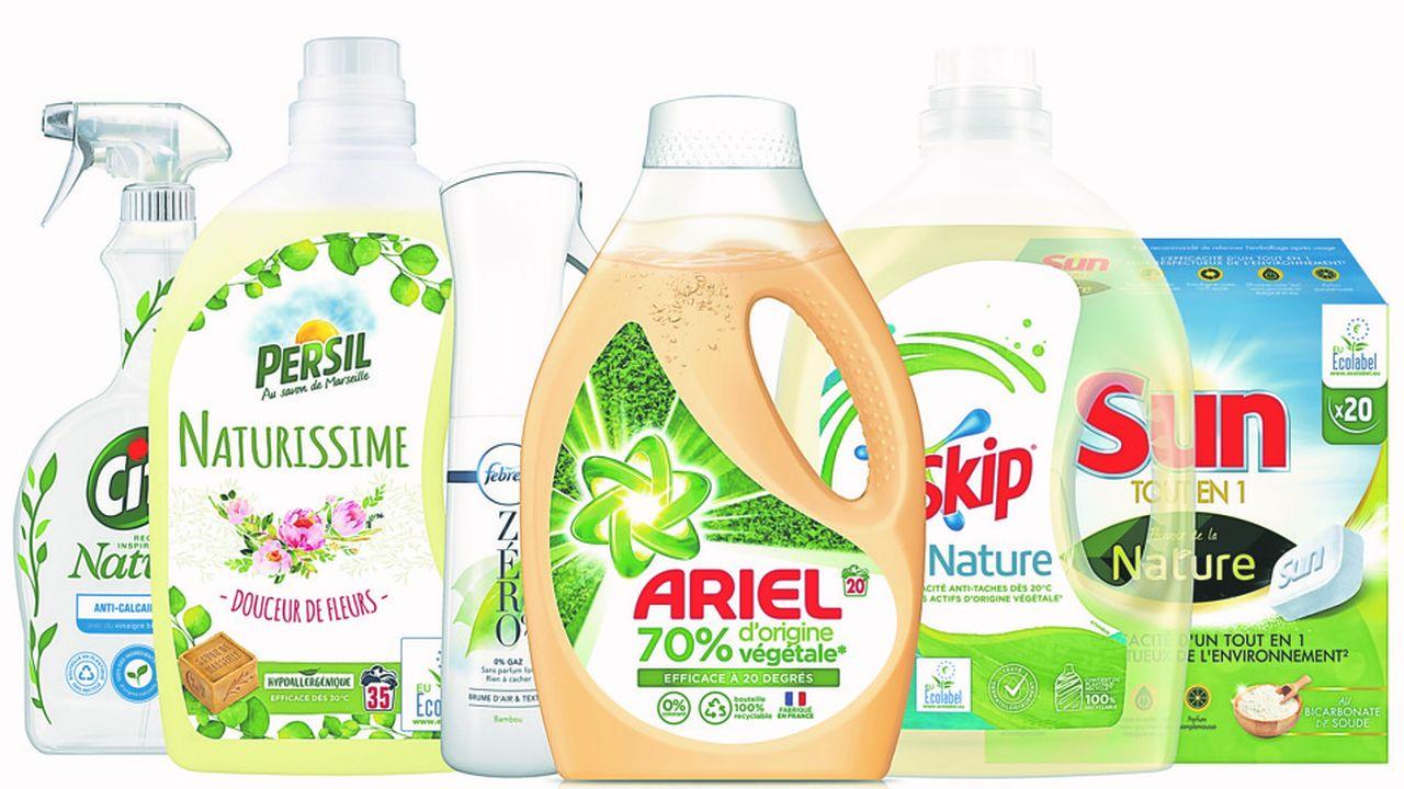 Unilever, P&G et Henkel arrivent en force dans les produits ménagers écolo