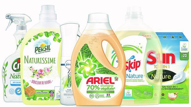 Unilever, P&G et Henkel arrivent en force dans les produits ménagers écolos