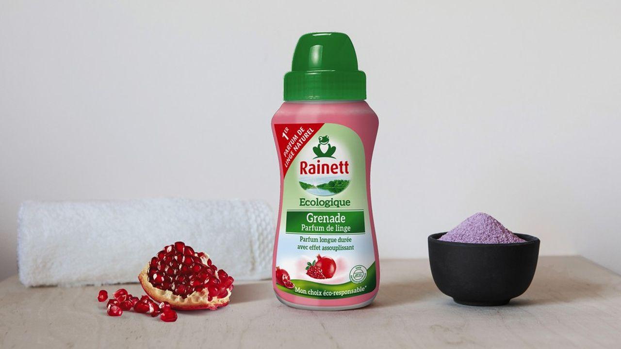 Rainett lance une nouvelle gamme sur un territoire axé sur le plaisir où on ne l'attendait pas: celui des parfums pour le linge.