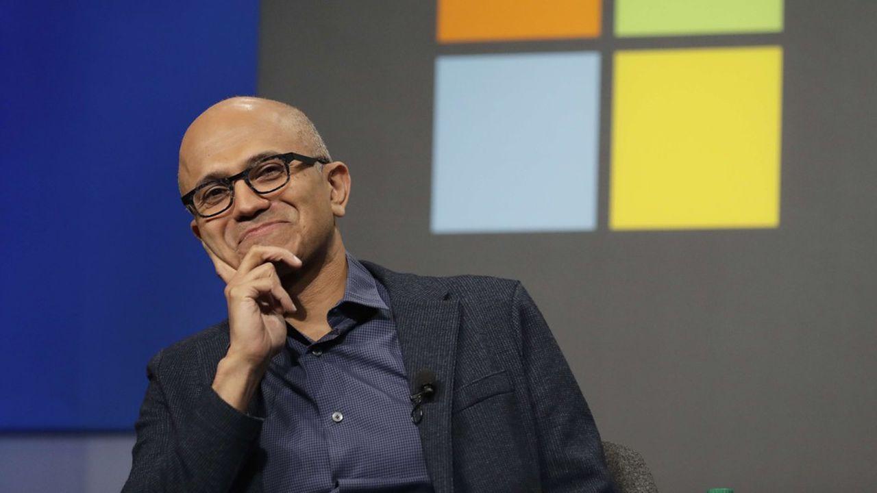 Satya Nadella, le PDG de Microsoft, dirige le numéroun mondial du logiciel depuis 2014.