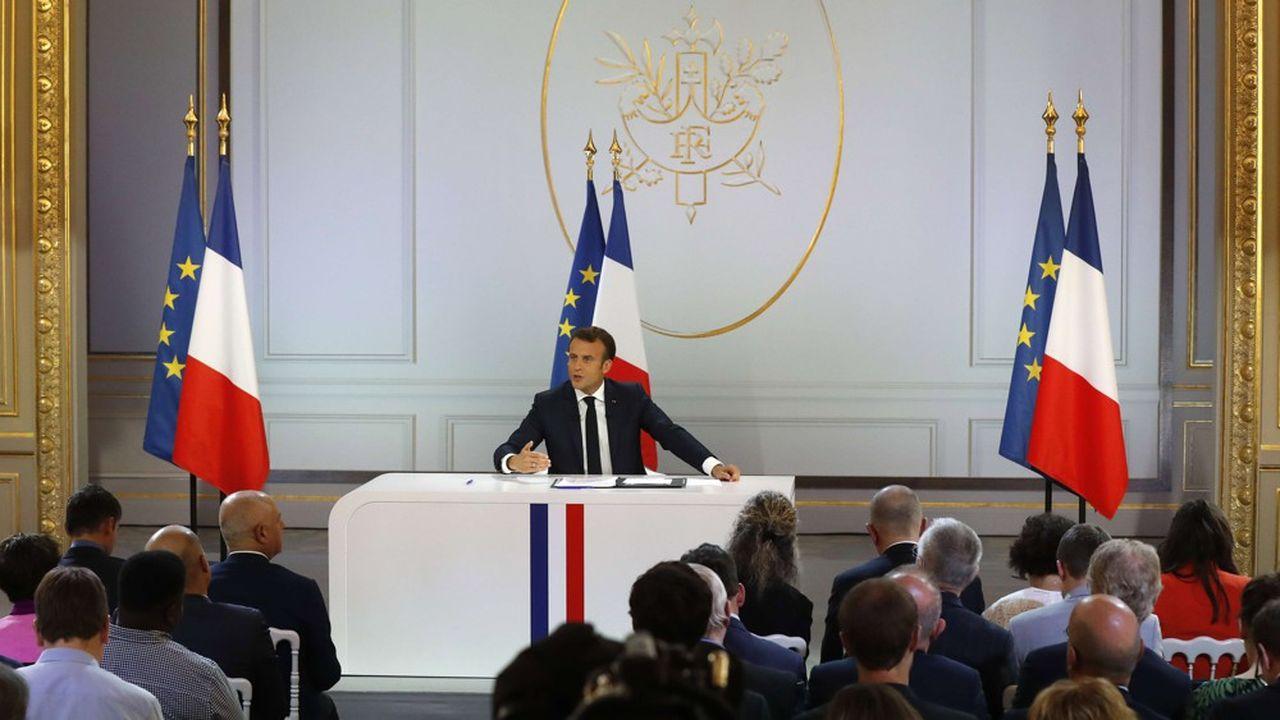 1db01a9e374 Macron ne renie rien et entend accélérer ses réformes après le grand ...