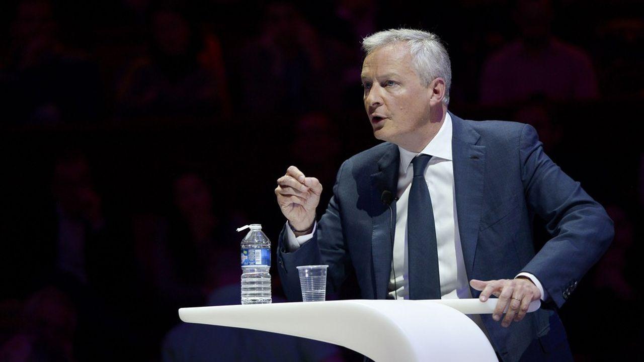 La réduction de l'impôt sur le revenu devrait bénéficier à 15millions de foyers fiscaux en France, a précisé Bruno Le Maire.