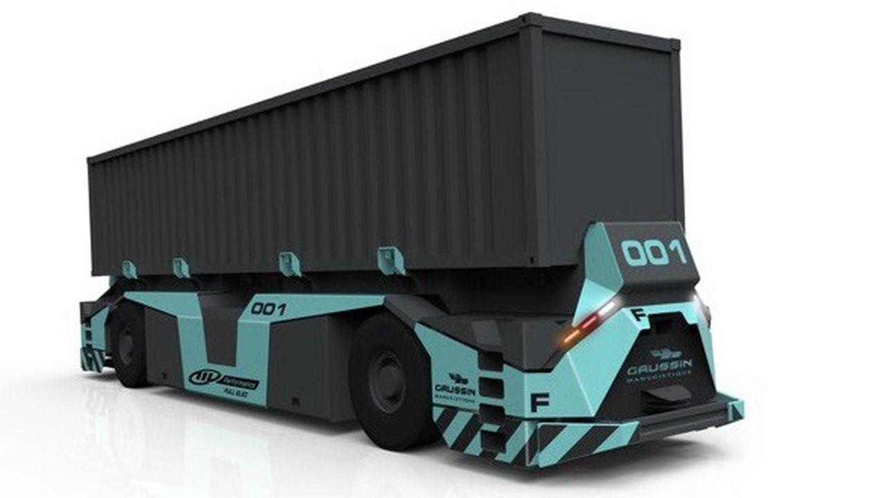 Le système Vasco (véhicule automatisé supervisé pour conteneurs) est le fruit d'un programme de recherche de Gaussin avec BA Systèmes, l'Ecole centrale de Nantes et l'université de Lille.