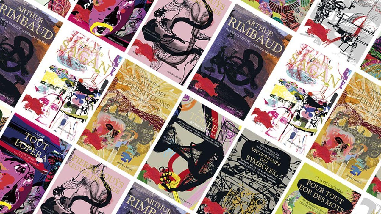 A l'occasion des quarante ans de la collection Bouquins, le couturier et designer Christian Lacroix a « relooké » dix de ses titres les plus emblématiques.