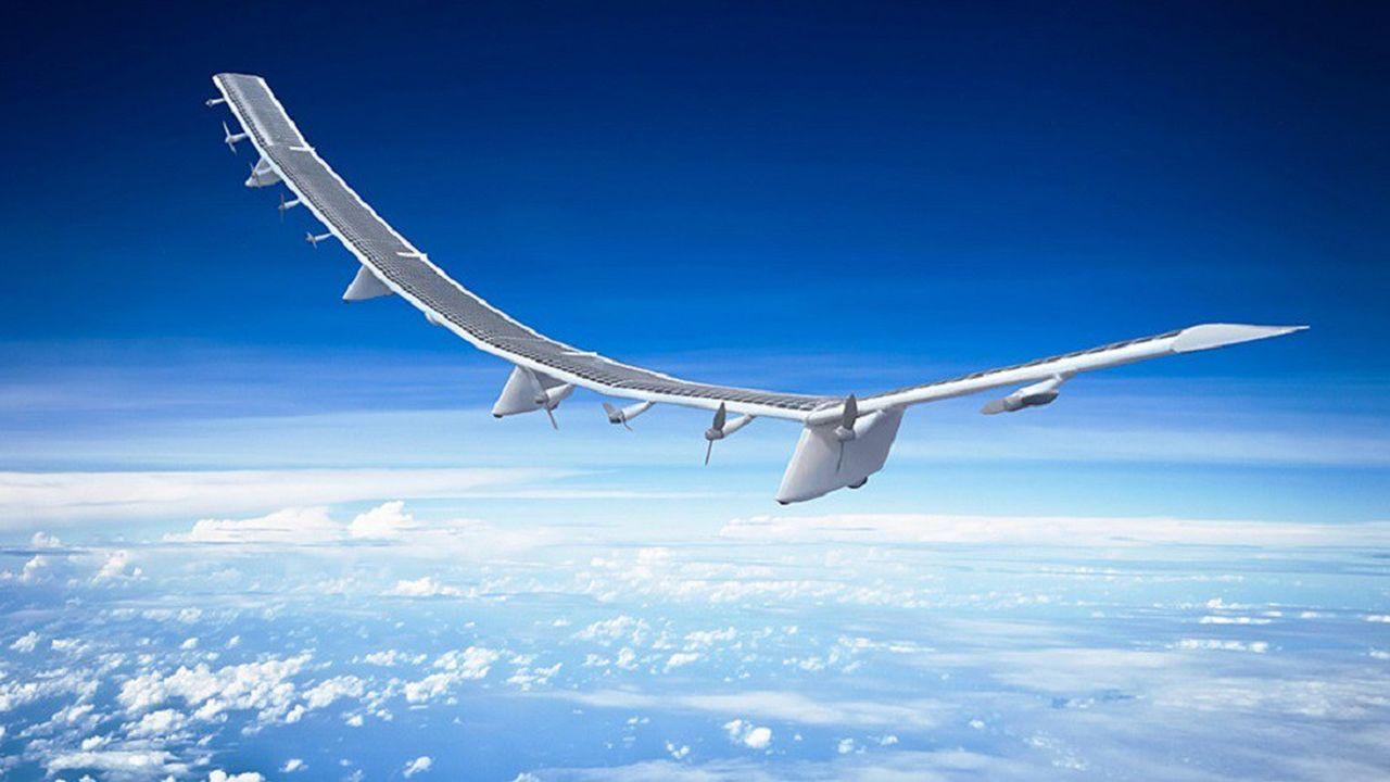Le drone Hawk 30 affiche une envergure équivalente à celle d'un Airbus A380